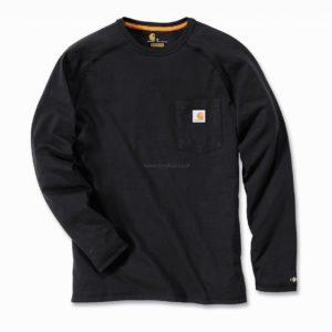 Koszulka Carhartt Force® Cotton Long Sleeve T-shirt – Czarny
