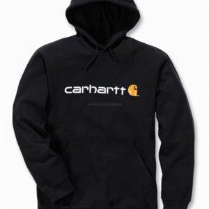 Bluza Carhartt Signature Logo Midweight – czarny