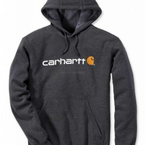 Bluza Carhartt Signature Logo Midweight – Carbon Heather
