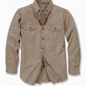 Koszula Carhartt Fort Solid Shirt – Dark Tan