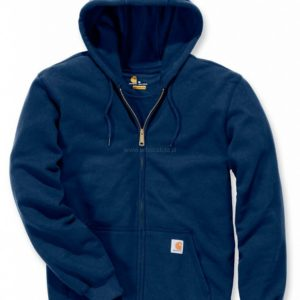 Bluza Carhartt Midweight Hooded Zip-Front – Granatowy