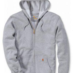 Bluza Carhartt Midweight Hooded Zip-Front – Szary Melanż
