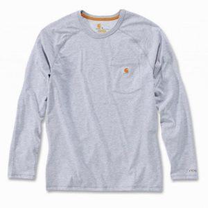 Koszulka Carhartt Force® Cotton Long Sleeve T-shirt – Szary Melanż