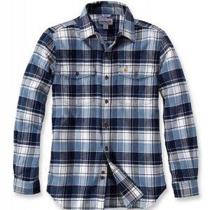 Koszula Carhartt Trumbull Slim Fit Flannel – Niebieski