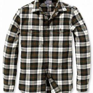 Koszula Carhartt Trumbull Slim Fit Flannel – Olive