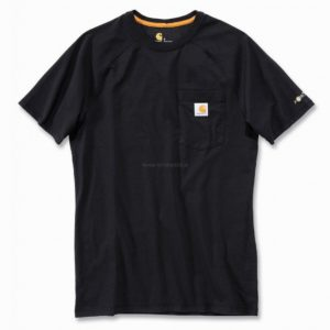 Koszulka Carhartt Force® Cotton Short Sleeve T-Shirt – czarny