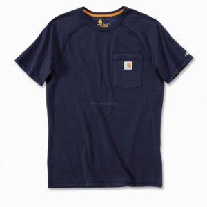 Koszulka Carhartt Force® Cotton Short Sleeve T-Shirt – granatowy