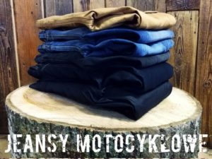 JEANSY MOTOCYKLOWE