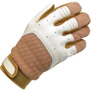 Rękawice Biltwell Bantam White/Tan