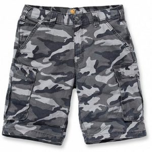 Szorty Carhartt Rugged Cargo Camo – Gray Camo
