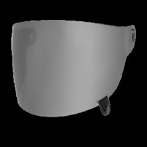 Szyba Bell Bullitt Flat Dark Silver (Czarny Pasek)
