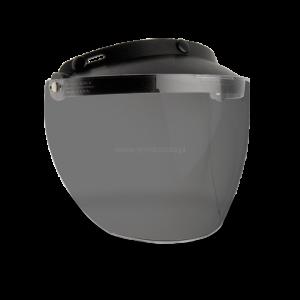 Szyba Bell Custom 500 Mxl 3-Snap Flip Smoke