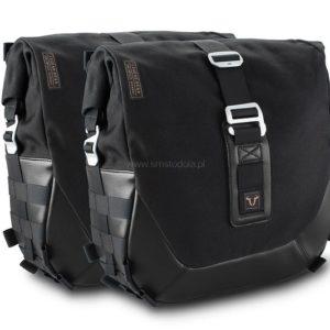 Zestaw Sakw I Stelaży Legend Gear Black Edition, Moto Guzzi V9 Roamer/Bobber (16-), 2xlc2, Sw-Motech