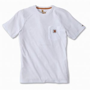 Koszulka Carhartt Force® Cotton Short Sleeve T-Shirt – biały