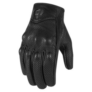 Rękawice Icon Pursuit Black Perforated WMN