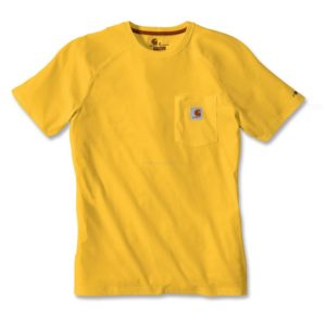 Koszulka Carhartt Force® Cotton Short Sleeve T-Shirt – mustard yellow
