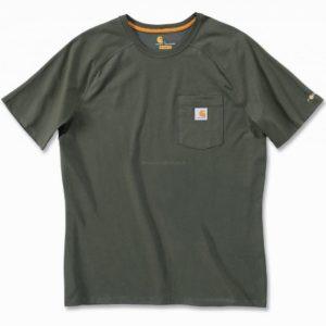 Koszulka Carhartt Force® Cotton Short Sleeve T-Shirt – Moss