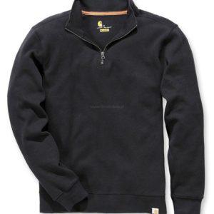 Sweter Carhartt Sweater Knit Quarter Zip – Czarny