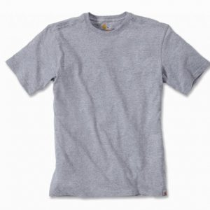 Koszulka Carhartt Maddock Short Sleeve T-Shirt – szary melanż