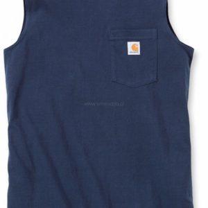 Koszulka Carhartt Bez Rękawów Sleeveless – granatowy