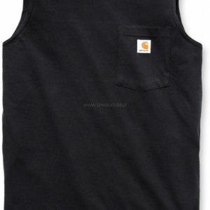 Koszulka Carhartt Bez Rękawów Sleeveless – czarny