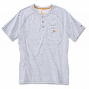 Koszulka Carhartt Force® Cotton Short Sleeve T-Shirt – szary melanż