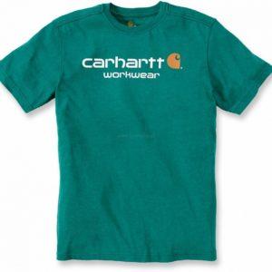 Koszulka Carhartt Core New Logo T-Shirt – Alpine Heather