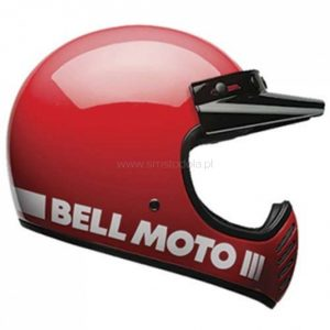 Kask Bell Moto-3 Red