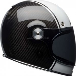 Kask Bell Bullitt Carbon Pierce Black/White