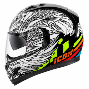 Kask Icon Alliance GT Bird Strike White