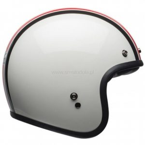 Kask Bell Custom 500 DLX Special Edition Ace Cafe Stadium White/Red/Black