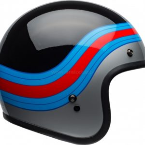 Kask Bell Custom 500 DLX Pulse Black/Blue/Red