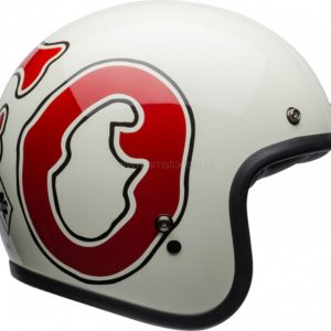Kask Bell Custom 500 DLX Special Edition Rsd WFO White/Red