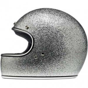 Kask Biltwell Gringo ECE Brite Silver Megaflake