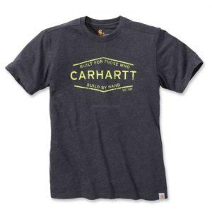 Koszulka Carhartt Made by Hand Graphic T-Shirt S/S – ciemny szary