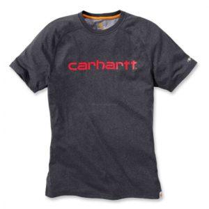 Koszulka Carhartt Force® Cotton Delmont Graphic Short Sleeve T-Shirt – Ciemny Szary