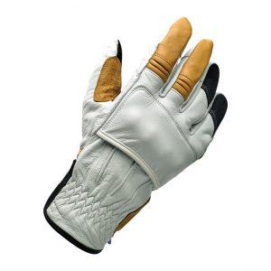 Rękawice Biltwell Belden Cement – White/Brown/Black