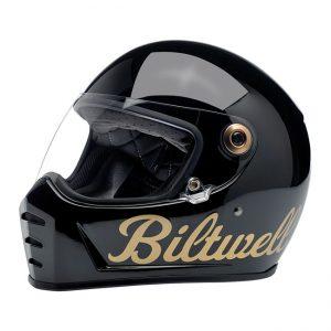 Kask Biltwell Lane Splitter Gloss Black/Gold Factory