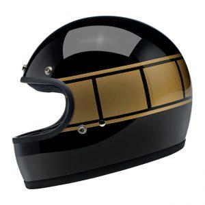 Kask Biltwell Gringo ECE Gloss Black Holeshot