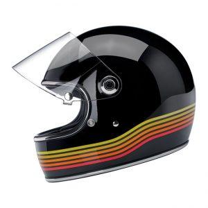 Kask Biltwell Gringo S ECE Gloss Black Spectrum