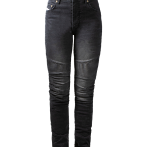 Spodnie Damskie John Doe Betty Biker Jeans Black