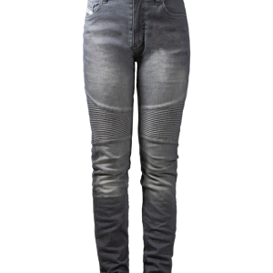 Spodnie Damskie John Doe Betty Biker Jeans Light Grey