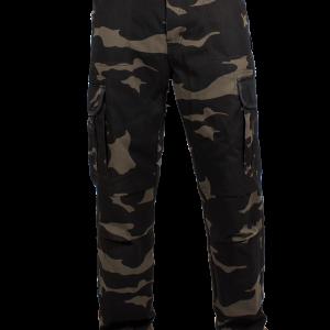 Spodnie Jeansy John Doe Regular Cargo Camouflage
