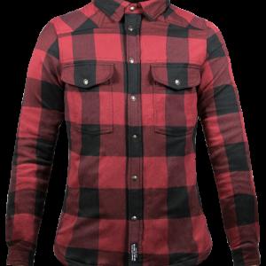 Koszula Damska John Doe Motoshirt Red/Black