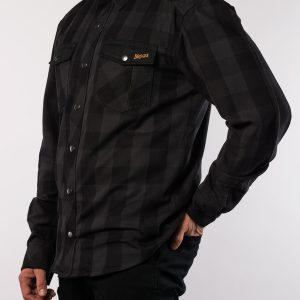 Koszula Motocyklowa Broger Alaska Black/Grey