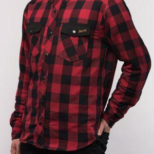 Koszula Motocyklowa Broger Alaska Black/Red