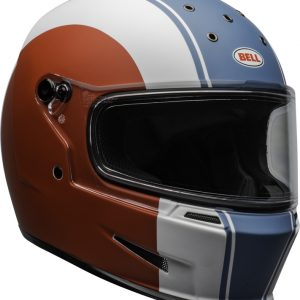 Kask Bell ELIMINATOR Slayer Gloss White/Red/Blue