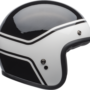 Kask Bell Custom 500 DLX Streak Gloss Black/White