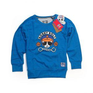 Bluza dziecięca crewneck BOBBY BOLT Police Blue