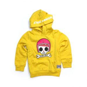 Bluza dziecięca hoodie BOBBY BOLT Bibbi Yellow